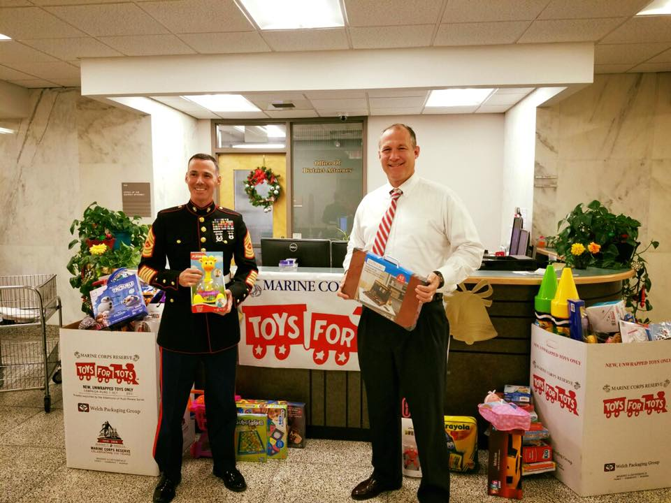 Toys For Tots Foundation Headquarters : In the community tuscaloosa county district attorney